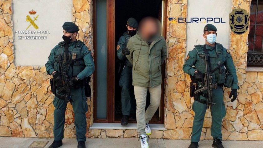 Разбиха най-голямата наркобанда в Мадрид