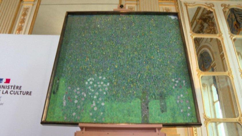 франция връща картина густав климт присвоена нацистите
