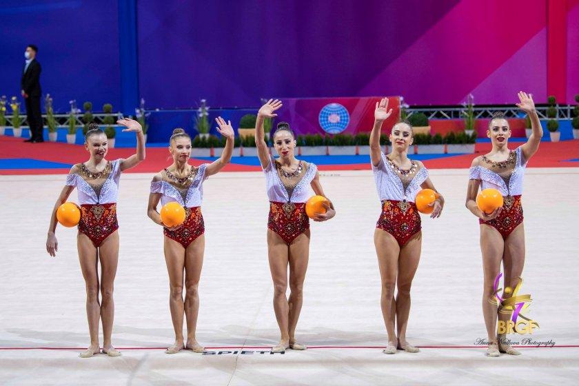 рекорд ансамбълът художествена гимнастика получи високата оценка световната история