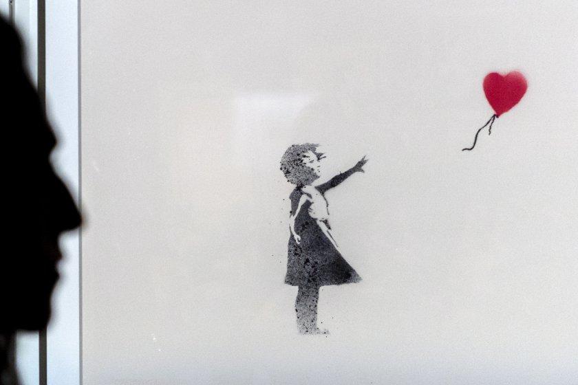 Творба на британския графити артист Банкси ще бъдат предложени днес