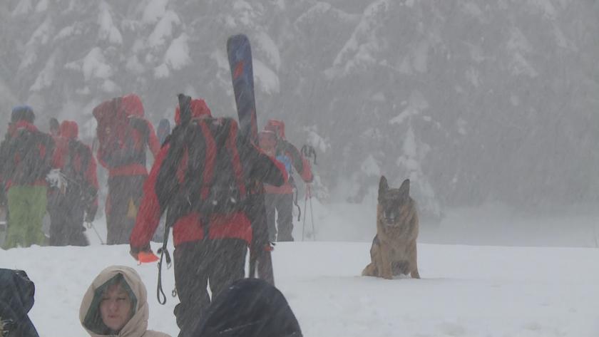 Локализирано е местоположението на изчезналия сноубордист