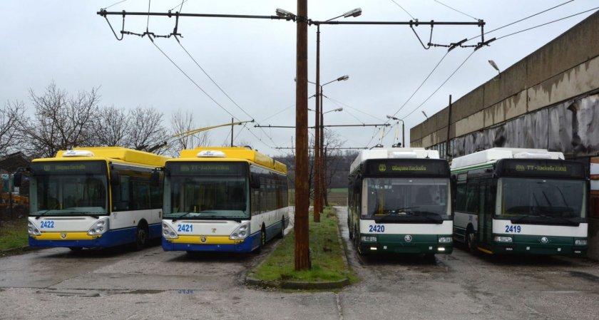 Нови тролейбуси тръгват в Хасково