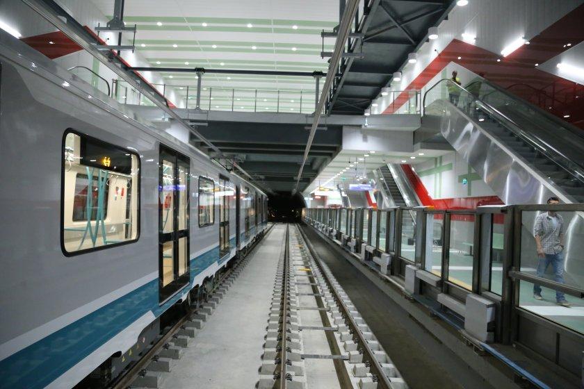 10 нови метровлака ще бъдат закупени за третата линия на метрото
