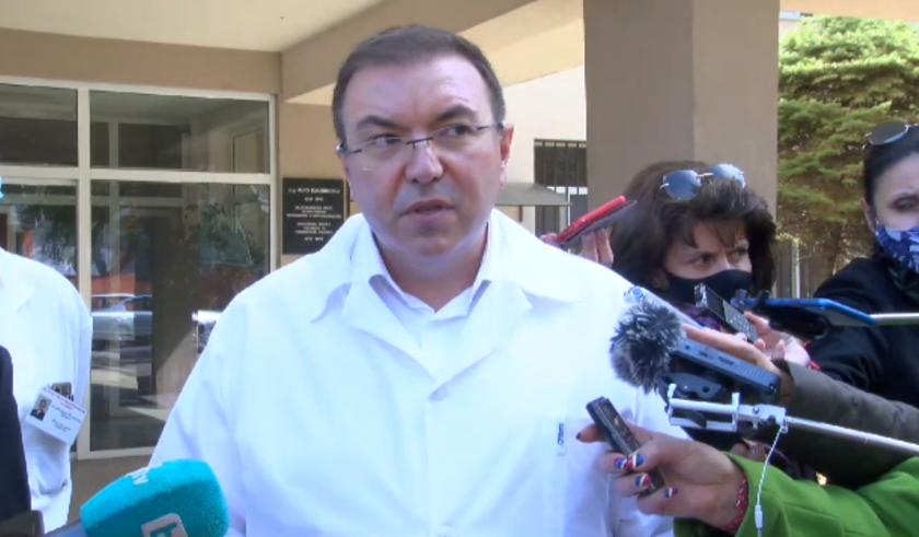 живо здравният министър посети болницата сливен