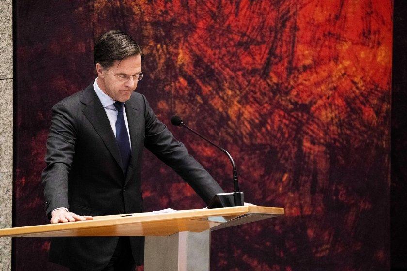 Парламентът на Нидерландия отхвърли предложение за вот на недоверие на Рюте