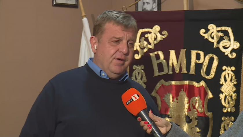 Нашата позиция на ВМРО е най-предвидима. Ние безпринципни коалици не