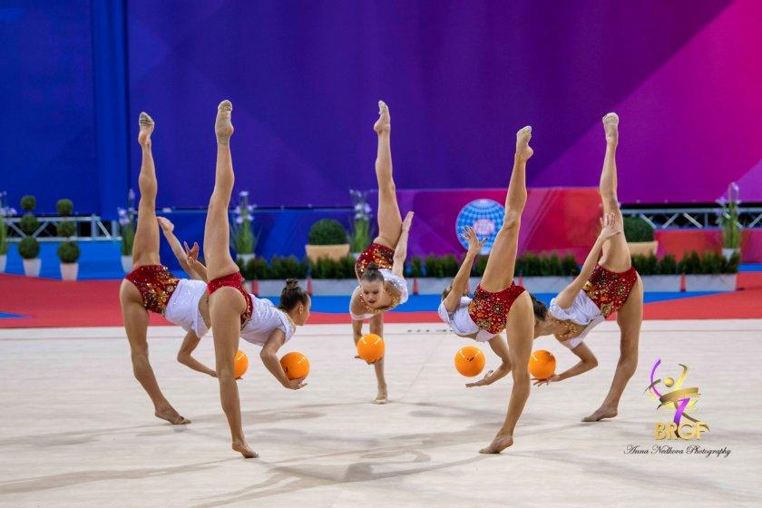 безапелационна победа многобоя ансамбъла художествена гимнастика софия