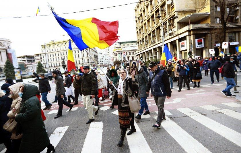 продължават протестите ограничителните covid мерки румъния
