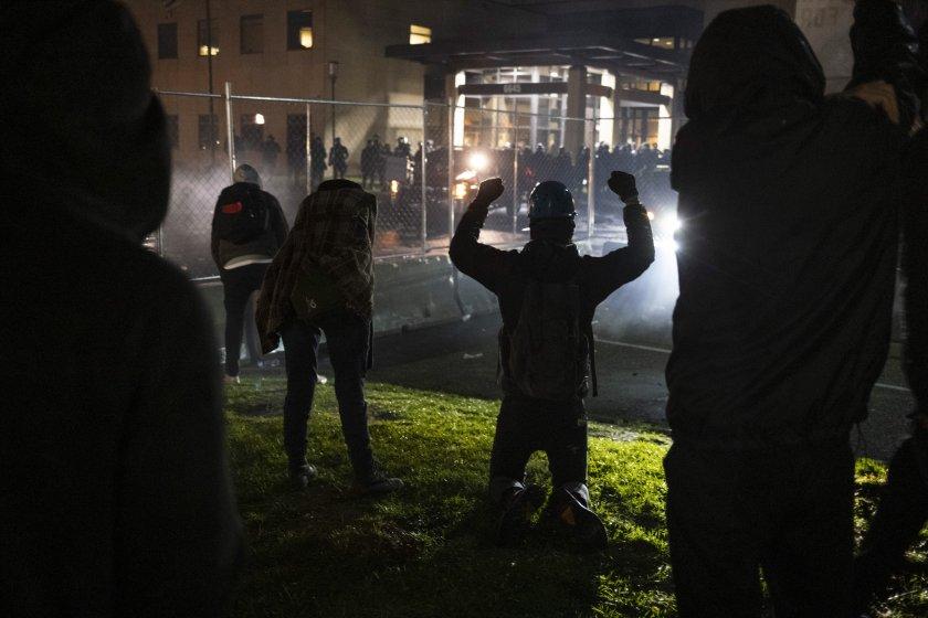 протести сащ убийството чернокож