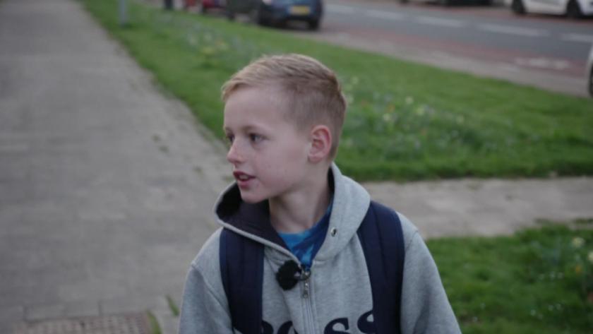 10-годишното нидерландско момче Джонатан изпълни 40-дневно предизвикателство да ходи всеки