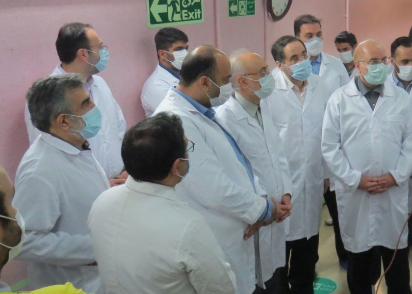 В иранския ядрен обект Натанз е станал инцидент, свързан с