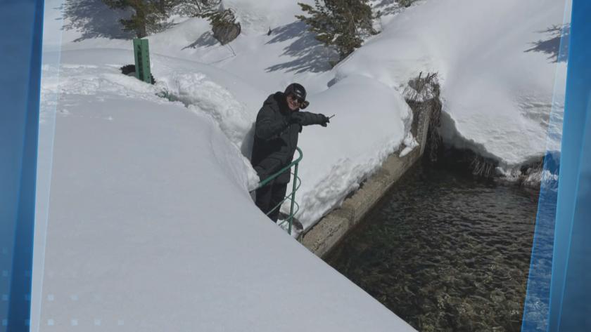 След снеготопенето: Повече от очакваното количество вода в язовирите
