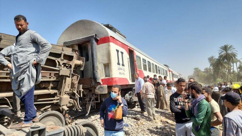 Основната причина за сблъсъка между двата пътнически влака в Египет,