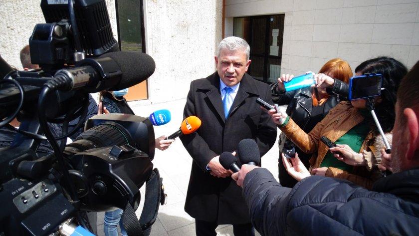 Отстраненият кмет на Благоевград Румен Томов с първи коментар след