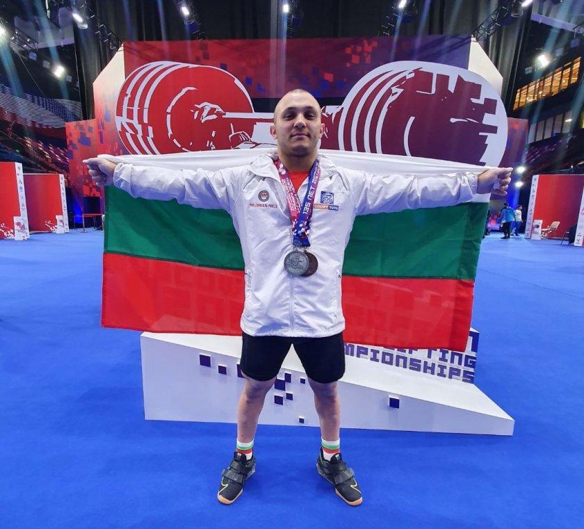 български дебютант бронз европейското щанги москва