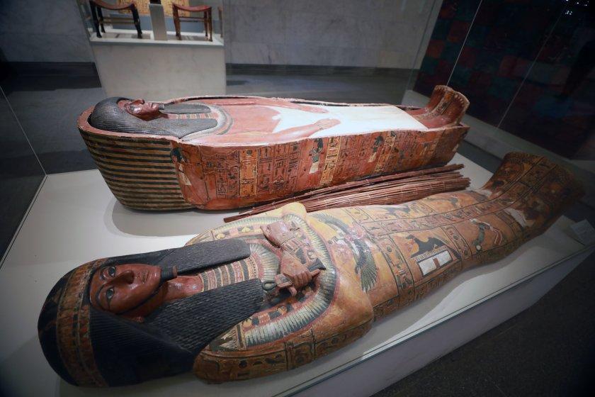 bdquoзлатният парад фараонитеldquo музея кайро снимки
