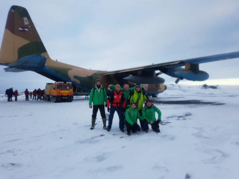 добра новина българските антарктици вече чилийска територия