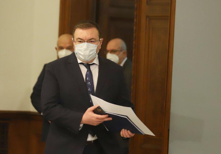 Ден след закриването на Националния оперативен щаб министърът на здравеопазването