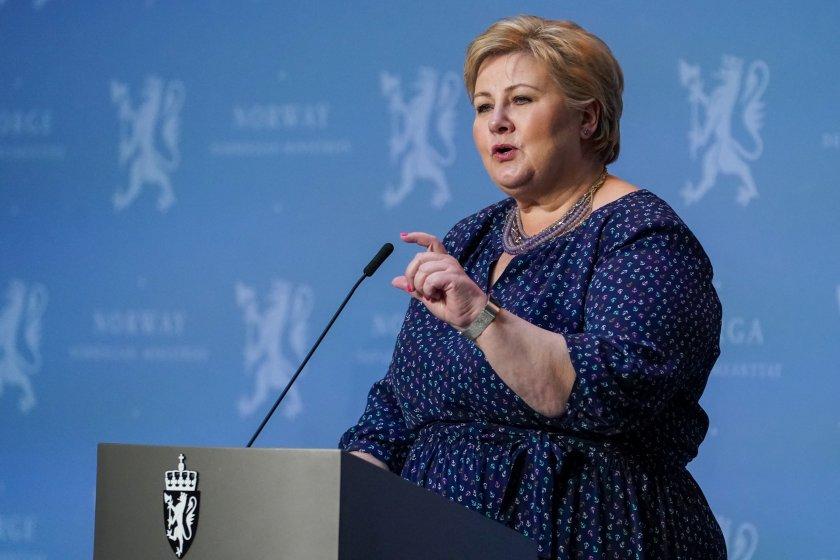 глобиха премиера норвегия нарушаване мерките