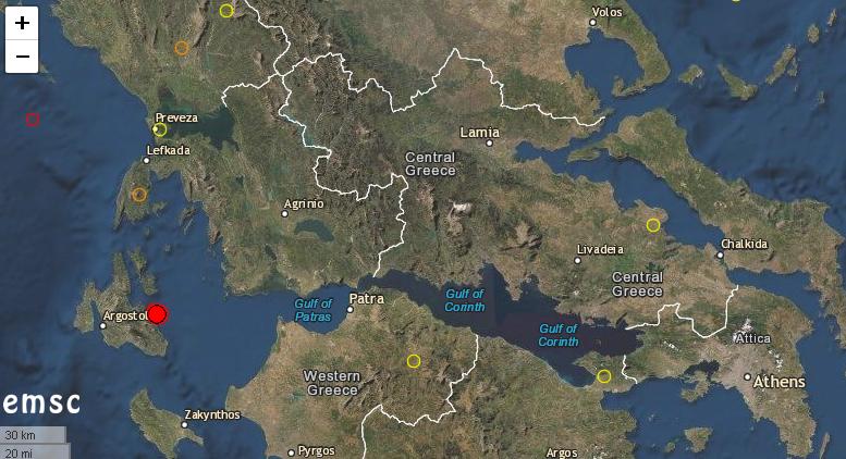 Земетресение с магнитуд 4,2 степен по скалата на Рихтер е