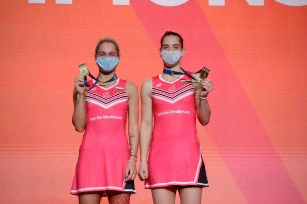 Габриела и Стефани Стоеви спечелиха златен медал на Европейското първенство