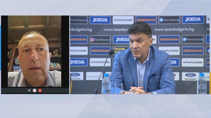Вицепрезидентът на БФС Атанас Фурнаджиев заяви в