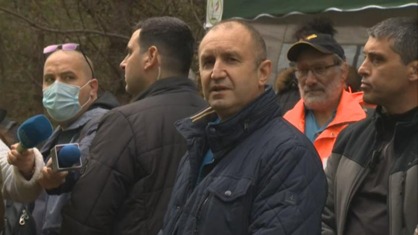 Днес президентът Румен Радев даде начало на инициативата