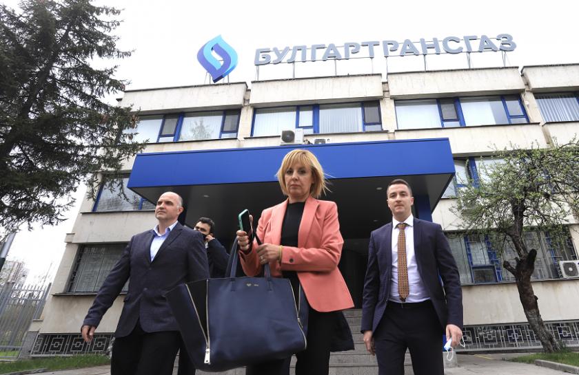 комисията проверка управлението изслуша шефа булгартрансгаз теменужка петкова