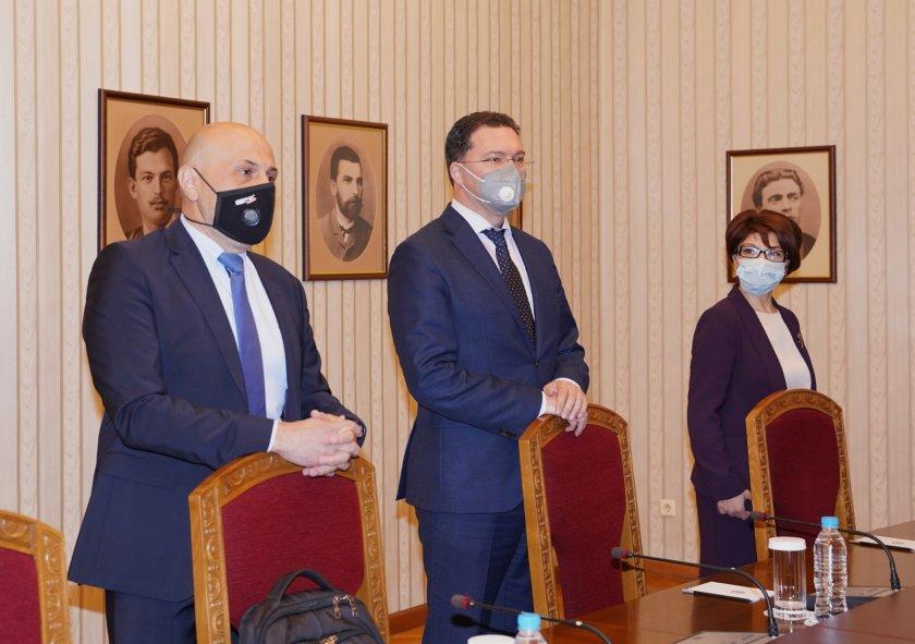 президентът връчва мандат съставяне правителство герб сдс