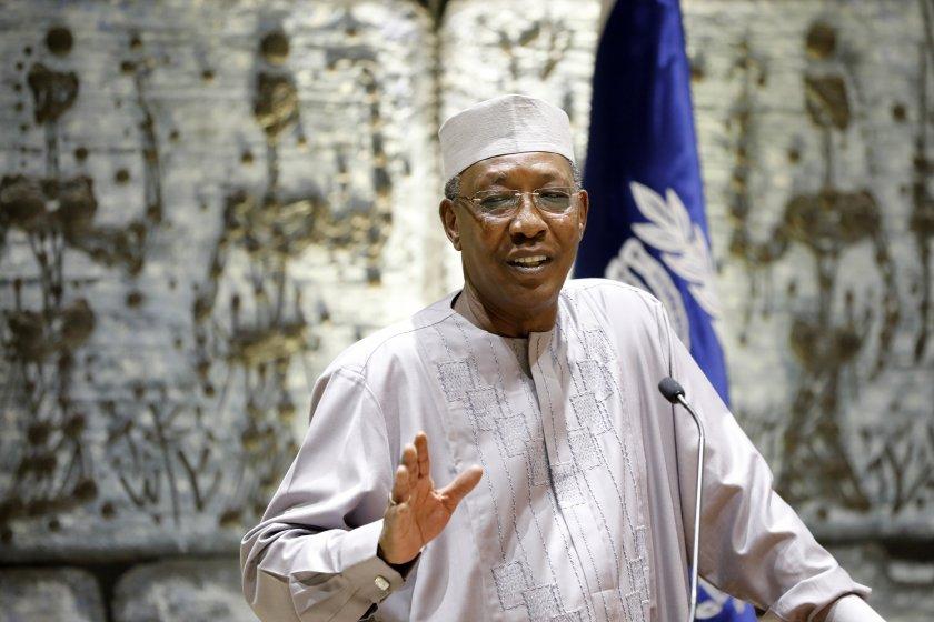 президентът чад почина сблъсък бунтовници