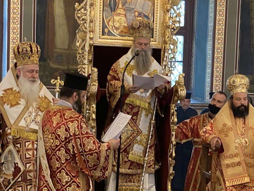 пловдивският митрополит николай оглави службата второ възкресение