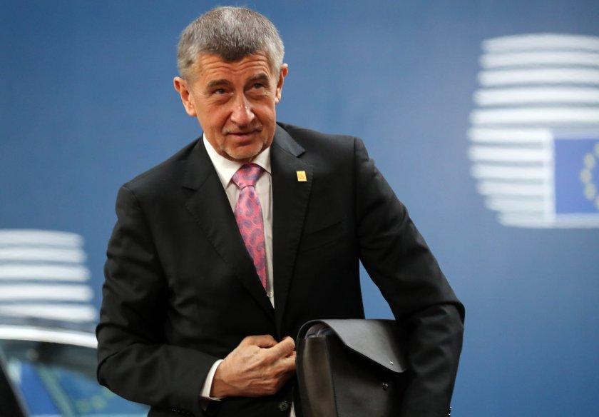 Доклад на ЕК уличава чешкия премиер в конфликт на интереси