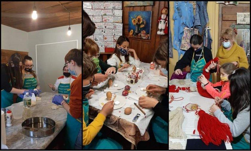 занаятчийско училище деца отвори врати старинен пловдив снимки