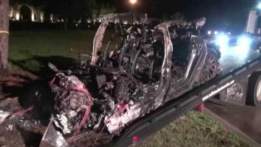 инцидент безпилотен автомобил тесла двама загинали