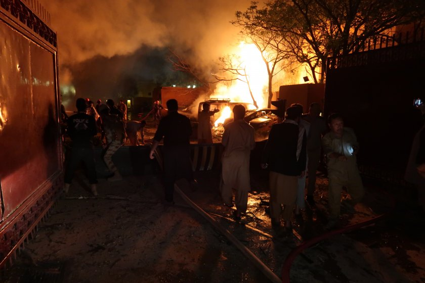 талибаните пакистан поеха отговорност атаката куета