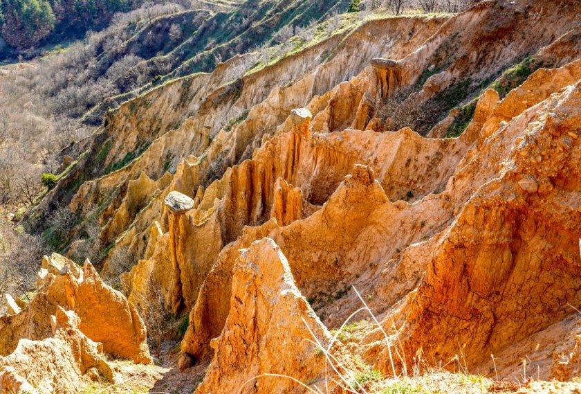 стобските пирамиди невероятен природен феномен полите рила планина