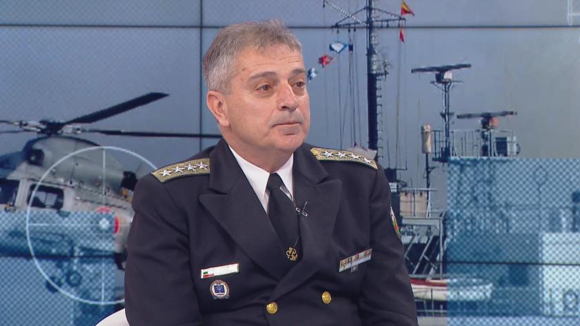 Адмирал Ефтимов: НАТО остава основният отбранителен съюз