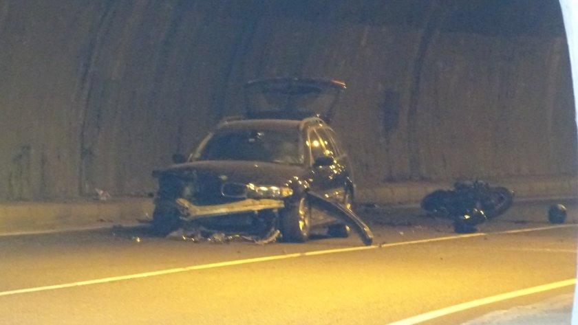 Моторист загина след удар в лек автомобил на ГП Е-79