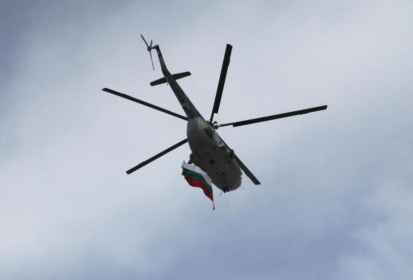 министерството отбраната ремонтира два хеликоптера четири