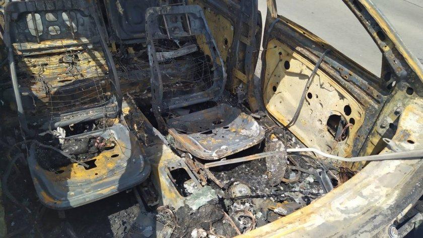 Техническа неизправност е причината за самозапалилия се автомобил край Бургас