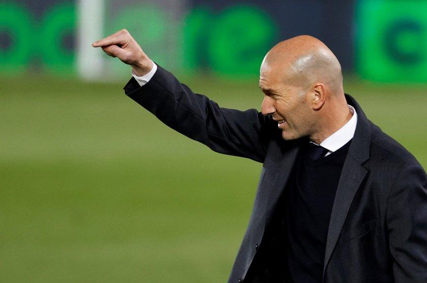 Зинедин Зидан Реал Мадрид