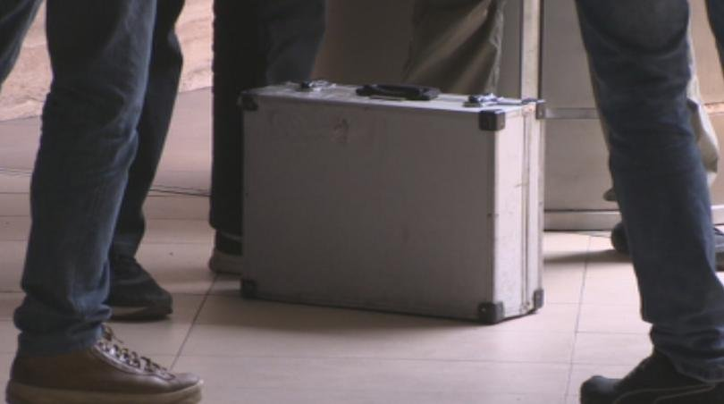 Районът около БНБ е бил отцепен заради изоставен куфар