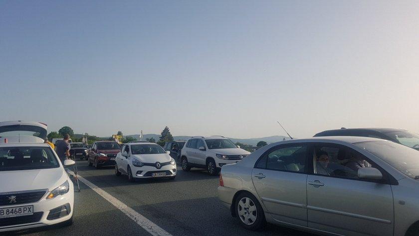Трафикът в последния почивен ден (ОБЗОР)