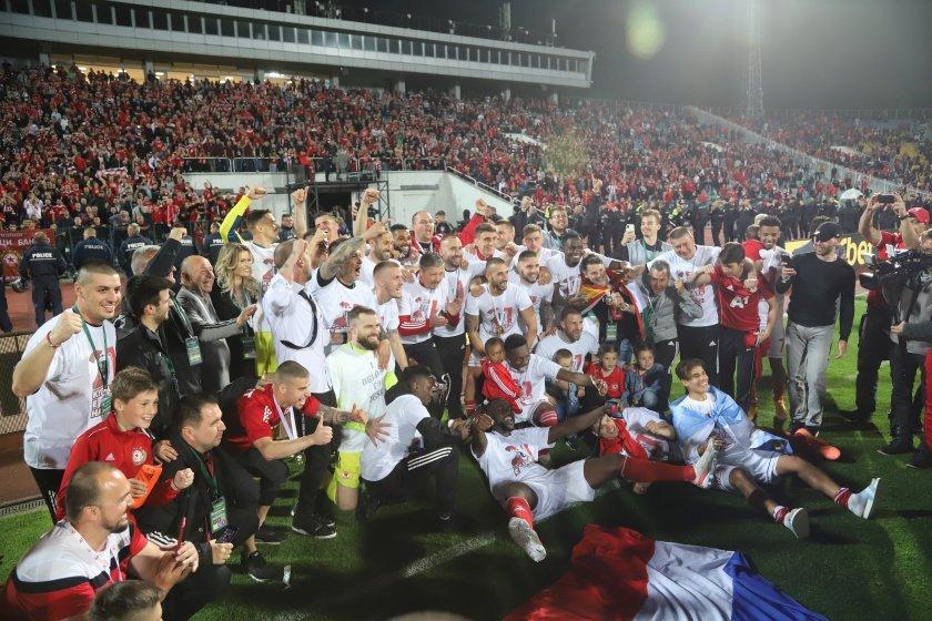Без напрежение и сериозни инциденти премина мачът между ЦСКА и Арда
