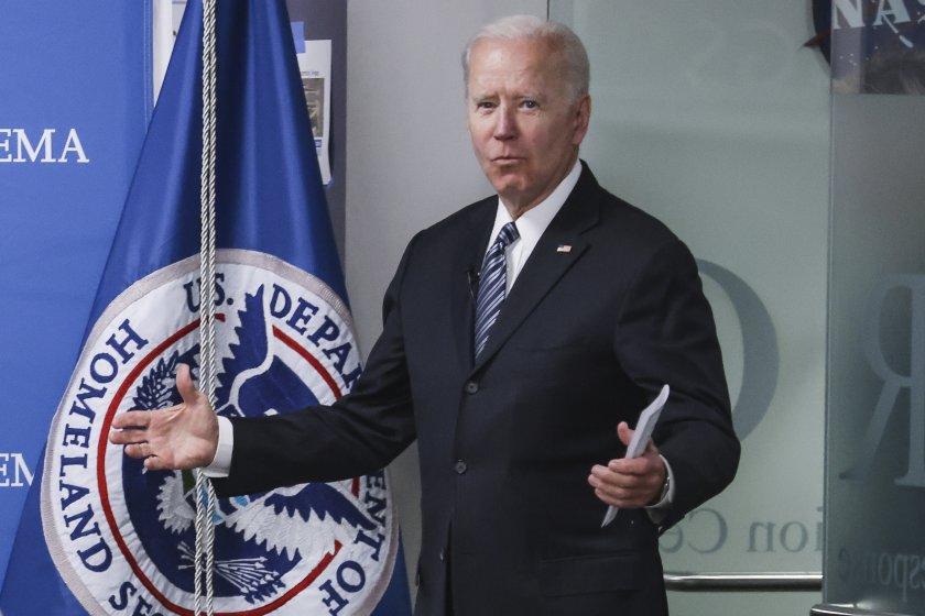 Президентът на САЩ Джо Байдън подкрепя въвеждането на целенасочени икономически