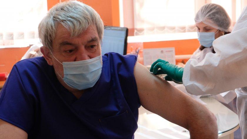 започна ваксинирането благоевград