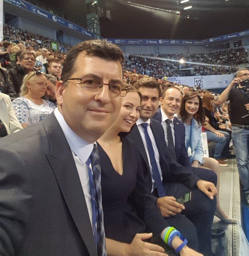 Eвродепутатите от групата на ГЕРБ/СДС в ЕП Андрей Ковачев, Андрей