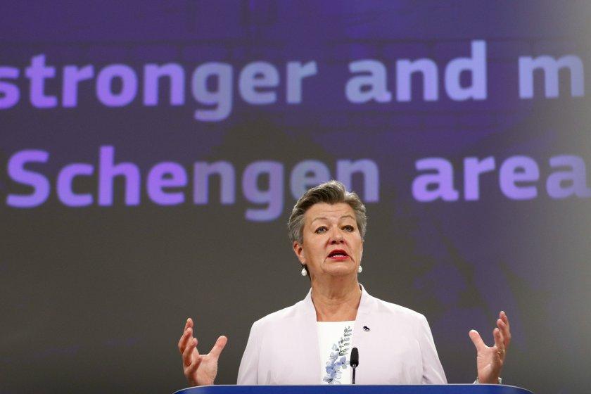 ЕК призова България да бъде приета в Шенген