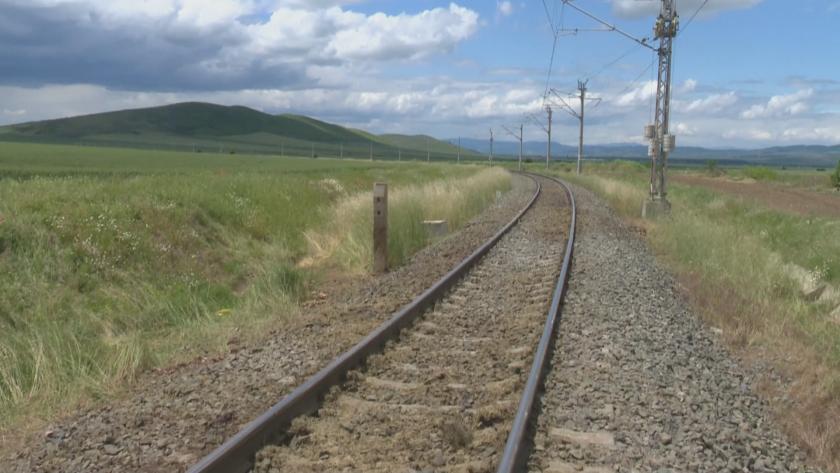 Инцидент между бърз влак по линията Бургас-София и стадо животни