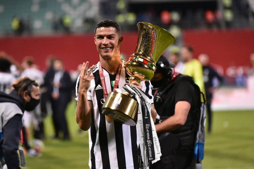 Роналдо се е сбогувал със съотборниците си в Ювентус